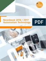 Newsbook 2016 / 2017 Automation Technology (DE)