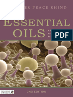 Essential Oils a Handbook for Aromatherapy Practice