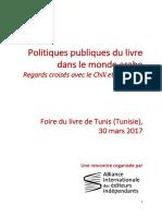 Politiques Publiques Du Livre Journee Professionnelle Tunis 2017