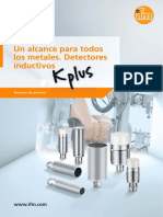 Un alcance para todos los metales. Detectores inductivos (ES)
