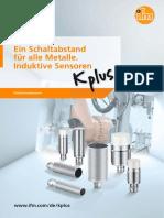 Ein Schaltabstand für alle Metalle. Induktive Sensoren (DE)