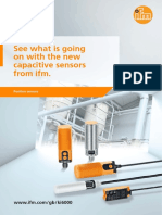 New capacitive sensors from ifm