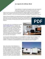 Características de un espacio de oficina Ideal
