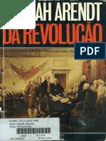 ARENDT, Hannah - Da Revolução.pdf