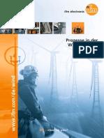 Prozesse in der Windindustrie