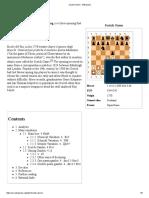 Scotch Game - e4e5Nf3Nc6d4