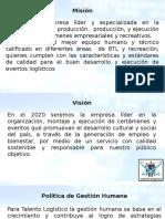 Mision Vision Politicas