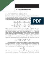 Chapter 2 – Fundamentals of Fixed-Bed Reactors
