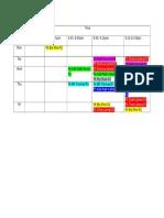 2017 Timetable 3 Jan 17