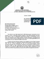 SEC Opinion No. 08-23