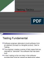 Chapter 8 Testing Tactics