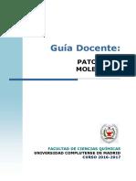GBQ Guía Docente Patología Molecular 2016 FINAL