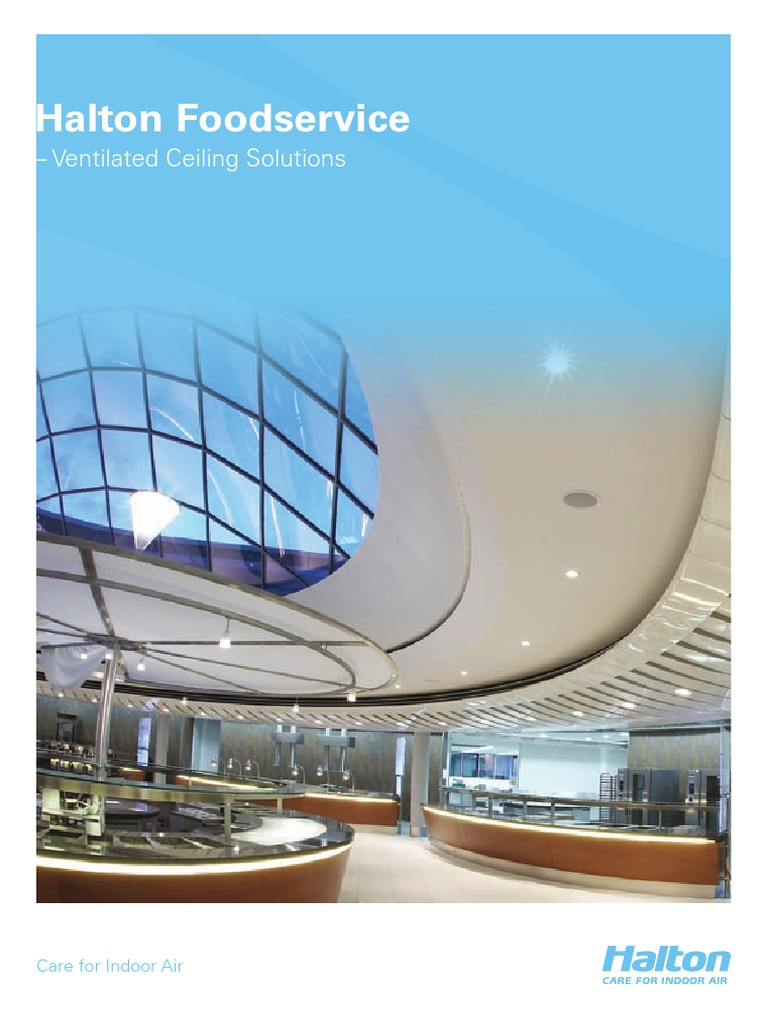Halton _ Ventilated Ceiling (Catalog)   Ventilation (Architecture ...