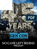 Gen Con 2012 Program Book