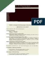 Fundamentos de Fisioterapia f. Alburquerque