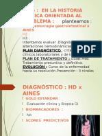 Hemorragia digestiva alta por AINES
