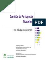 Comisión Participación Ciudadana DS. Málaga Guadalhorce, 23-03-2017
