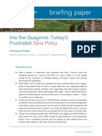 12-5-2012 Into the Quagmire Turkeys Frustrated Syria Policy