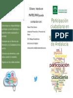 Tríptico Participación Ciudadana