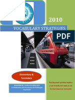 Vocabulary Strategies Document