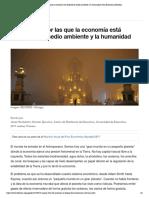 _5 razones por las que la economía está ... la humanidad | foro Economico Mundial