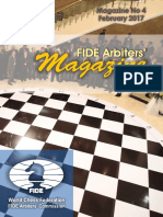 FIDE Arbiters Magazine No 4 - February 2017