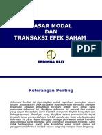 1 Pasar Modal Dan Transaksi Efek Saham