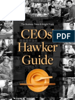 Singapore CEO's Hawkers Guide