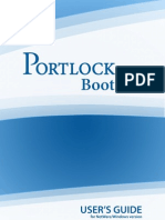 PortLock Boot CD User Guide