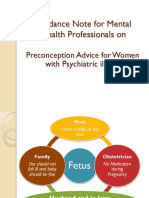 preconception counselling