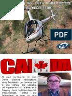 Denis Vincent R22 BETA II Hélicoptère