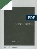 AGAMBEN, Giorgio. Ninfas. São Paulo, Hedra, 2012.pdf