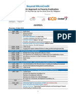 Conference Agenda as of July 15