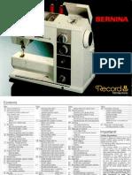 Bernina 930 Manual