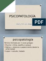 Psicopatología Como Ciencia