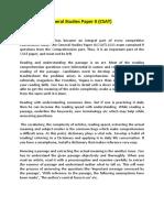 How to Crack General Studies Paper II