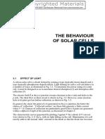 Behavior of PV