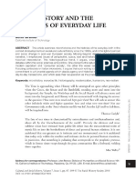 Historiografia. Brewer. Microhistory and the History of Everyday Life