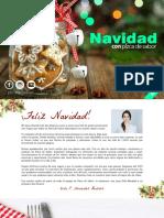 Recetario Navideño Pizca de Sabor 2016