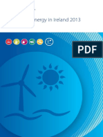 Renewable Energy in Ireland 2013 Update