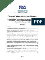 Fsma Pc Rule Faqs