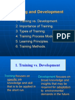 Ps 5 Training and Development