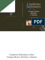 Cuaderno Enfermero Sobre Cirugía Menor, Heridas y Suturas. José Carlos Bellido Vallejo 2008