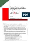 Overview Thailand Railway
