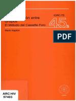 Kaplun Comunicacion Entre Grupos. El Metodo Del Cassette Foro