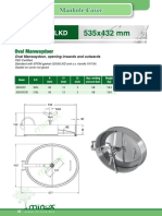Minox 048 Oval Manwaydoor Model 200LKD 535x432 Mm