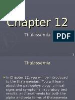 Hem Lect 12 Thalassemia