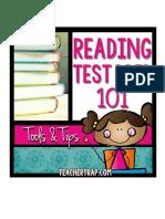 reading test prep