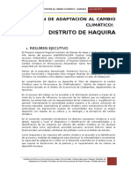 Plan de Adaptacion Haquira