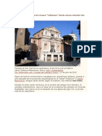 Restaurada La Carcel Romana Tullianum Donde Estuvo Retenido San Pedro